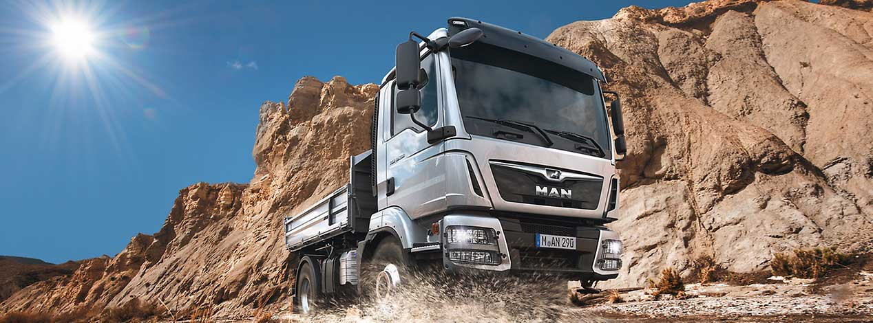 man truck oil capacity